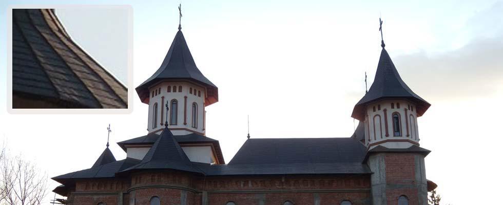 Tabla pentru acoperis furnizata de Cuprumetal.ro – Parohia Roznov  Neamt