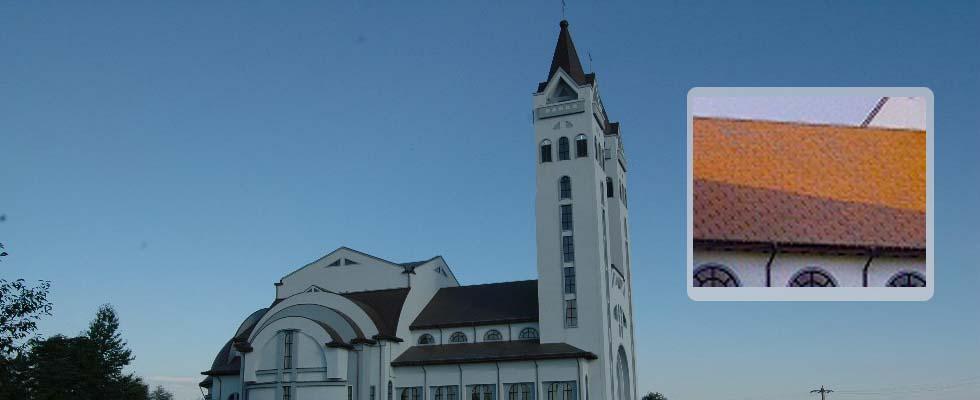 Tabla pentru acoperis furnizata de Cuprumetal.ro – Parohia Romano-Catolica Pildesti  Neamt