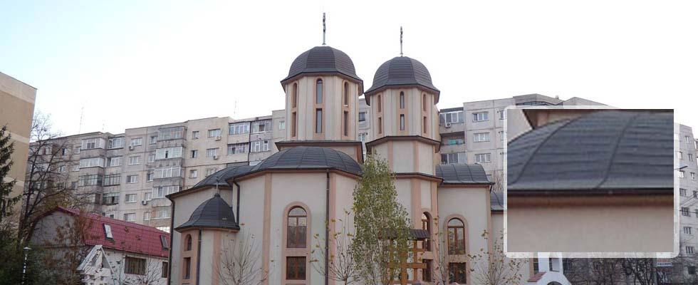 Tabla pentru acoperis furnizata de Cuprumetal.ro – Parohia Sf Apostoli Petru si Pavel – Bucuresti